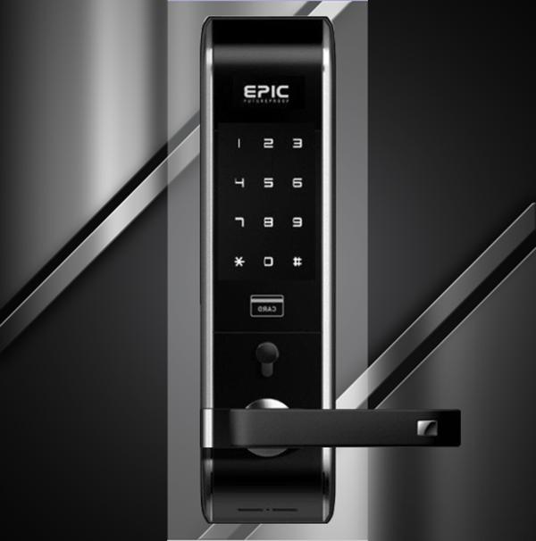 Kết quả hình ảnh cho ổ khóa cửa thông minh epic