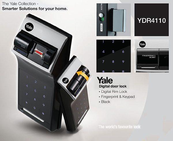 Khóa điện tử Yale YDR-4110 cao cấp