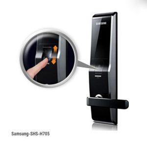 Khóa điện tử Samsung cao cấp SHS-H705