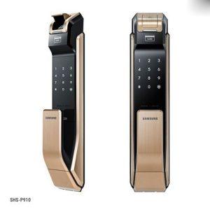 Mẫu khóa điện tử vân tay Samsung SHS-P910