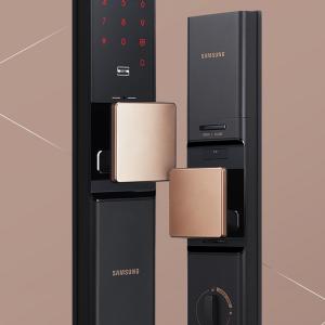 Thiết kế tinh tế của khóa Samsung